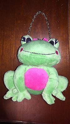 EUC Gymboree Bright Tulip frog purse retail