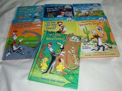 HUGE set of 7 The Cat in the Hat's Learning Library hardcovers