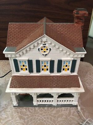 Dept 56 Snow Village Year Round Holiday House with Additional Accessories
