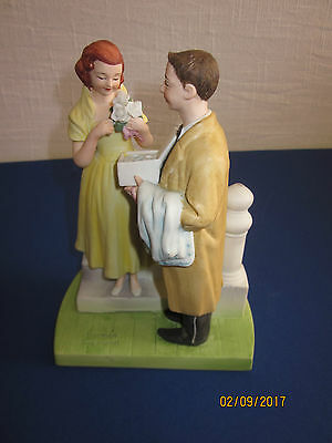 Norman Rockwell 1979 Vintage Figurine - The First Prom