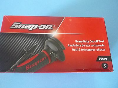 """New Snap-On Heavy Duty 3"""" Air Cut Off Tool, PT430, 1 hp, 25000 rpm"""