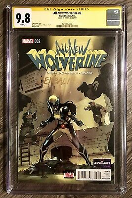 All New Wolverine 2 Cgc 9.8 Ss Signed Bengal 1St App Gabby Sisters X-23 Logan Nm