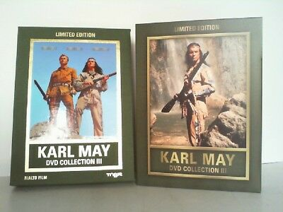 Karl May DVD-Collection 3 . Winnetou I/Winnetou II/Winnetou III . 3 DVDs. Limite