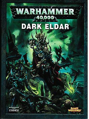Dark Eldar Codex Warhammer 40K 2010 Gams Workshop New