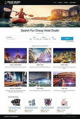 Established Automated Hotel & Flight Booking - Travel Website Business For Sale