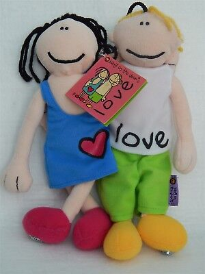 Bang On The Door 'love' Collectable Beanie Soft Toy, Golden Bear Ltd 1999