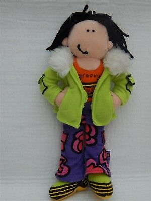 Bang On The Door 'groovy Guy' Collectable Beanie Soft Toy, Hasbro 2001