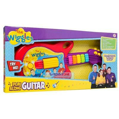 The Wiggles Play Along Guitar 5 Hit Song Kids Musical Fun Toy Sing & Dance