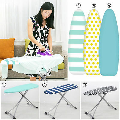 40cmX128cm Household Cotton Printed Ironing Board Cover and Pad Thick Underlay
