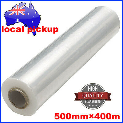 Shrink wrap 500mm x 400m 25µM CLEAR Hand Stretch Film for Pallet