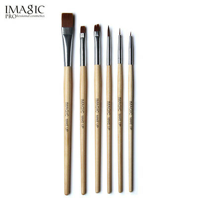 IMAGIC Makeup Face Body Colorful Paint Woody Brushes Cosmetic Art Painting Tool