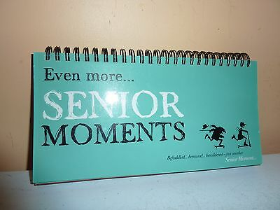 Past Times 'even More Senior Moments' Book/cards Of Humourus Quotes For Elderly