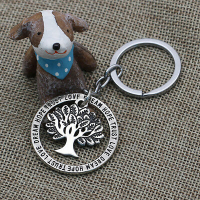 Vintage Tree Of Life Pendant Keyrings Keychain Key Rings Men Women Gifts Jewelry