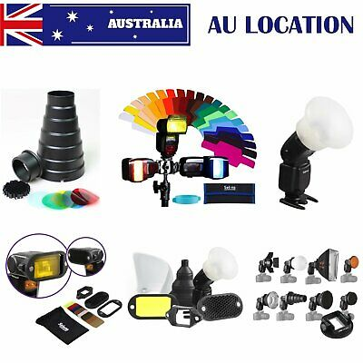 AU Selens Magnetic Flash Accessories Modifier Gel Filter Diffuser Bounce Snoot
