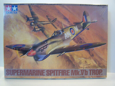 Tamiya 1/48 Scale Aircraft Series Supermarine Spitfire MK VB TROP Model Sealed