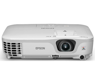 epson eb-84E HOME CINEMA PROJECTOR 2600 LUMENS NEW LAMP 6000 HOURS