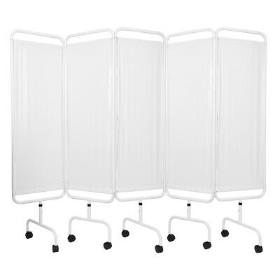 Viva Medi Economy Medical Privacy Screen - 5 Panel