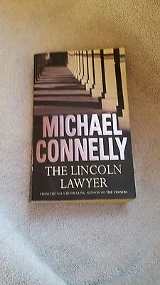 Michael Connelly The Lincoln Lawyer Paperback Book