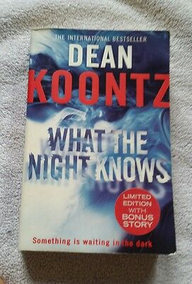 Dean Koontz What The Night Knows Paperback Book