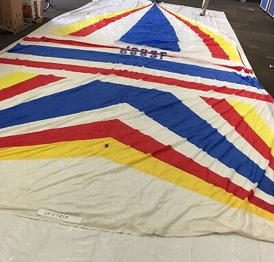 Symmetrical Spinnaker w/ Bag by Shore Sails in Fair to Good Condition 52.1' SL