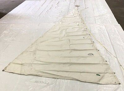 Dacron Headsail for Tarten 10 By Horizon in Good Condition 32.9' Luff
