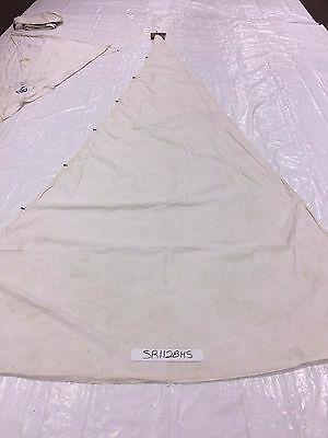 Dacron Headsail 25.2. Luff  in Fair Condition