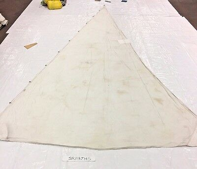 Dacron Headsail in Poor Condition 30.95' Luff