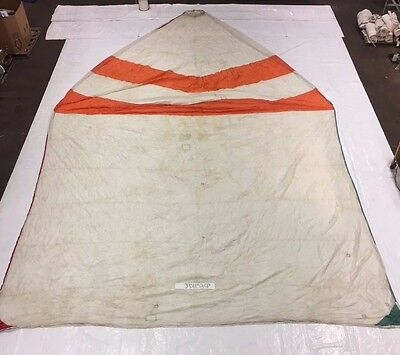 Symmetrical Spinnaker w/ Bag by Vector Sails in Fair Condition. SL 36.8'