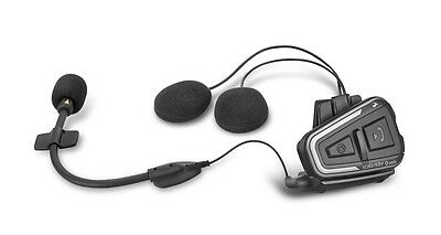 NEW Cardo Scala Rider Q Solo Single Motorcycle Bike Bluetooth Headset