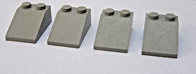 LEGO Traditional Light Gray Slope 3x2 33 degree Lot of 4