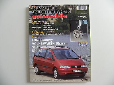 revue technique automobile RTA neuve FORD GALAXY / VW SHARAN / ALHAMBRA diesel