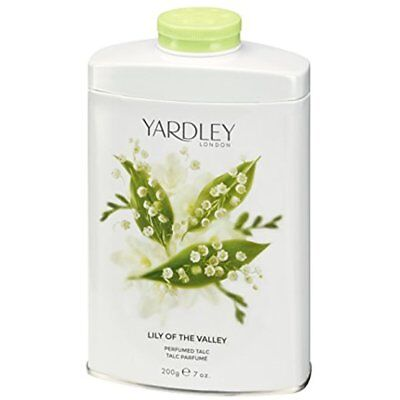 London Womens Lily Of The Valley Perfumed Talc 200g