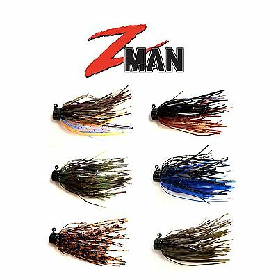 Z MAN SHROOMZ MICRO FINESSE JIG 1/8 OZ 2 PACK select colors