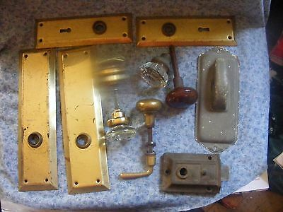 Vintage Antique Hardware Glass crystal Ball Door Knobs and more