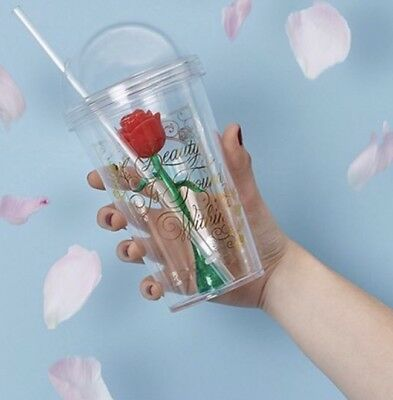 Primark Beauty And The Beast Rose Cup Picclick Uk