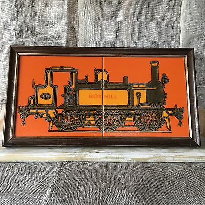 Vintage Small Framed Crosstitch Picture • £1 30 Pic UK