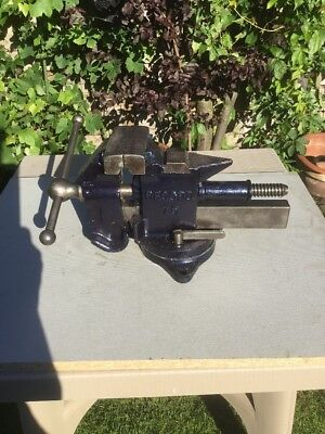 Pre-owned Vintage Record 75 Vice With Swivel Base Made In England