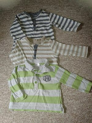 boys 6-9 months long sleeved tops