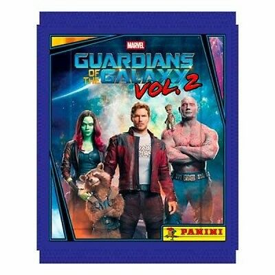 Guardians Of The Galaxy Vol 2 Sticker Packets Packs - Full Box of 50 Packs