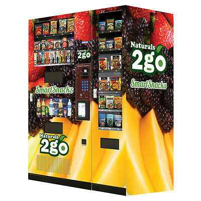 7 New Seaga N2G5000 Healthy Combo Vending Machines