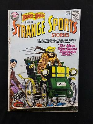 Brave and the Bold #48 Strange Sports Stories Infantino 1963 Silver Age DC
