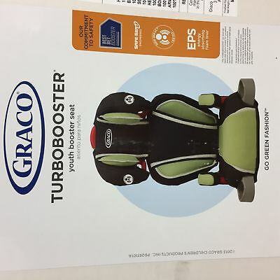 Graco TurboBooster high back booster seat - Go Green Fashion