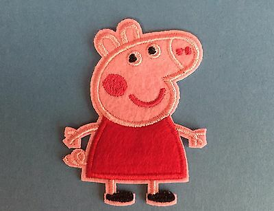 Pepa Pig Collectible Hat Jacket Hoodie Backpack Iron On Hipster Patch Crest