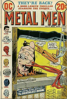 Metal Men #42 - March, 1973 - Very Good