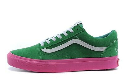 d6442476ee6 NEW Vans X Golf Wang X Syndicate Old Skool Green Pink Size 10 Supreme Odd  Future
