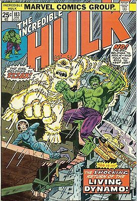 The Incredible Hulk - #183 - January,1975 - Very Fine