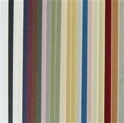 25 Full Sheet Mat Board Variety (Pack 25 Assorted Colors )32 x 40 Cream Core