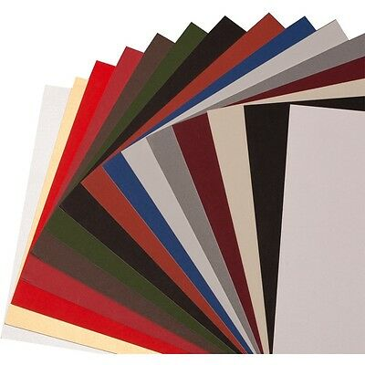 10 Full Sheet Mat Board Variety (Pack 10 Assorted Colors )32 x 40 Cream Core
