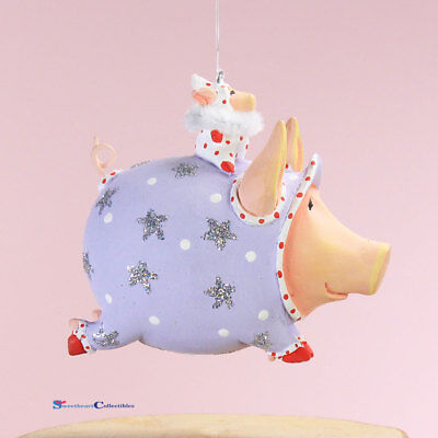 Patience Brewster Mini Tinberbelle Pig Ornament 31013