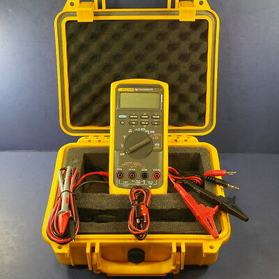 Fluke 787 Processmeter, Very Good condition, Hard Case, Screen Protector